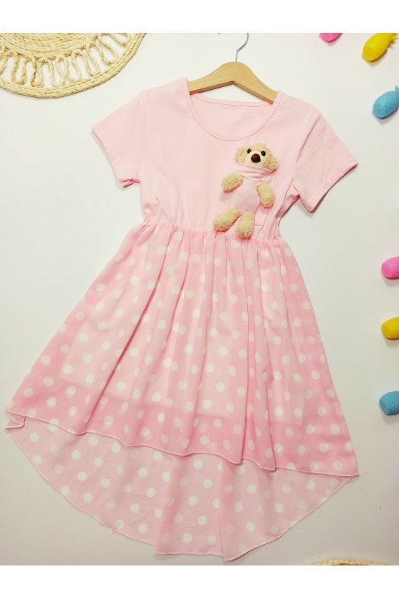 Teddy Powder Dress