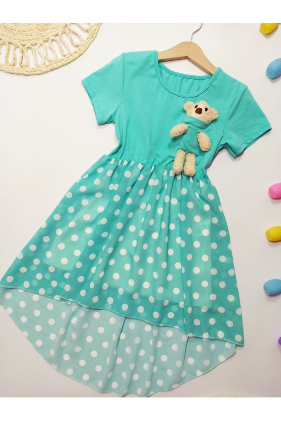 Teddy Mint Dress