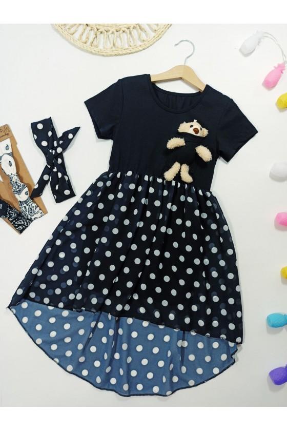 Sukienka Teddy black