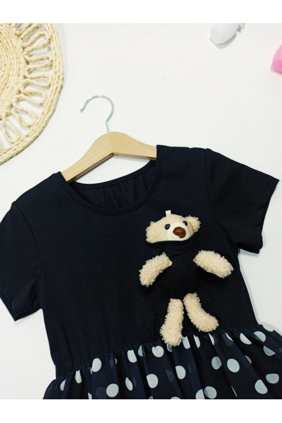 Teddy Black Dress
