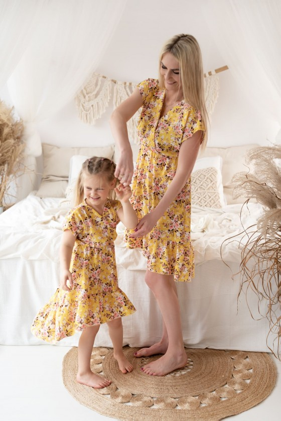 Dress daughter Erica yellow