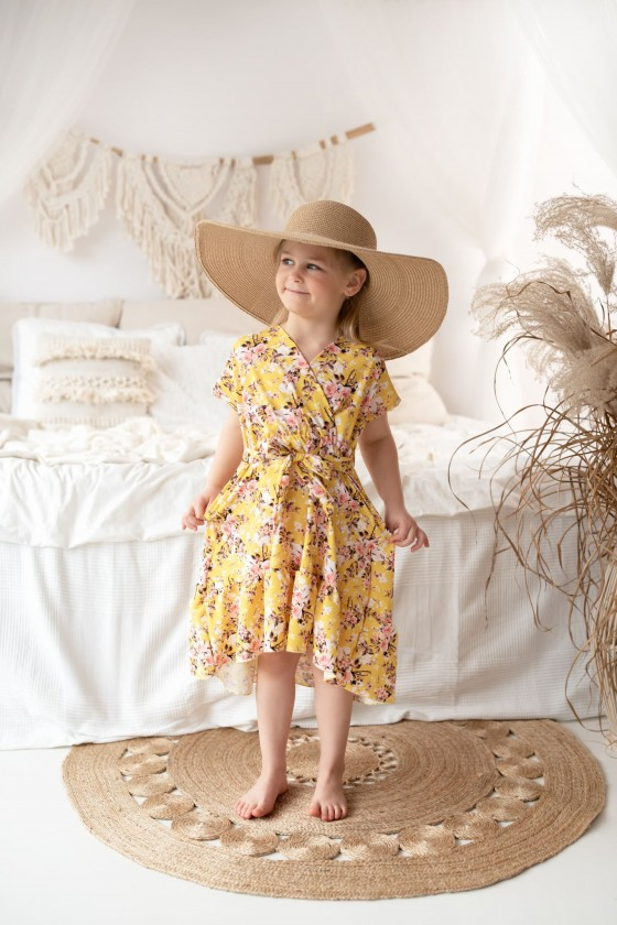 Dress mom Erica yellow