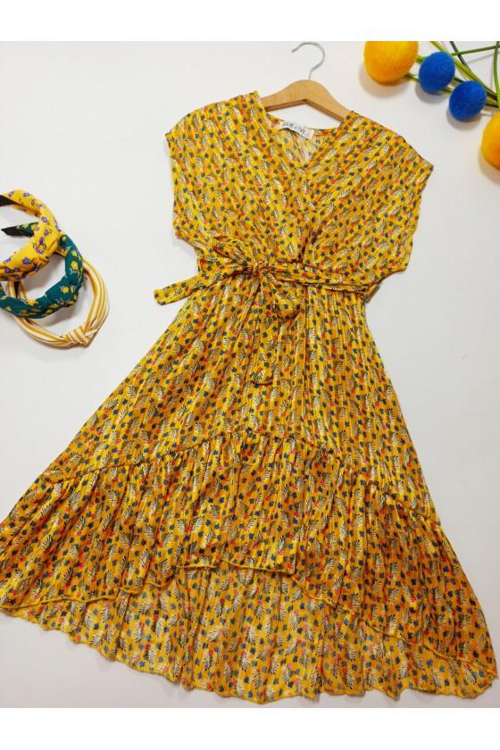 Kirk's yellow dress