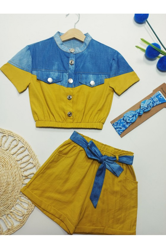 Set Timonka blouse and...
