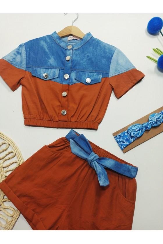 Set Timonka blouse and...