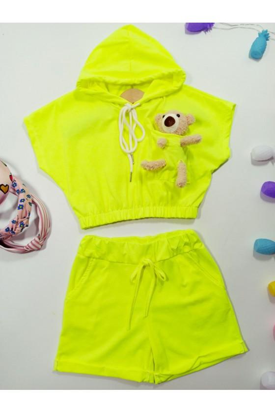 Set Gumiś neon yellow