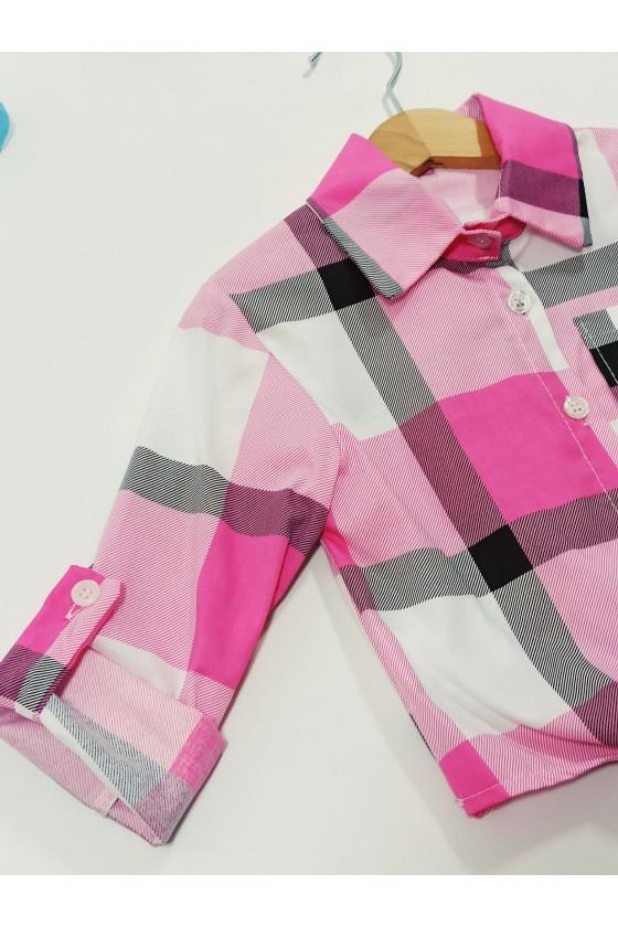 Tośka pink shirt