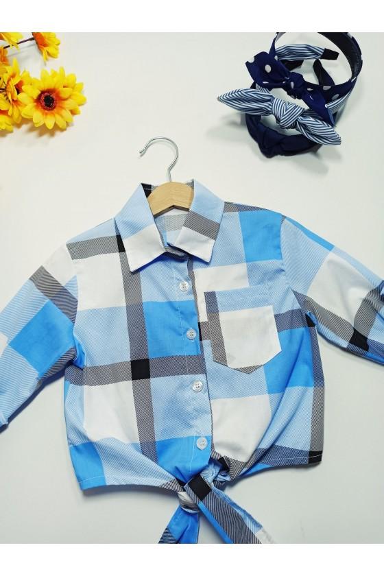 Tośka baby blue shirt