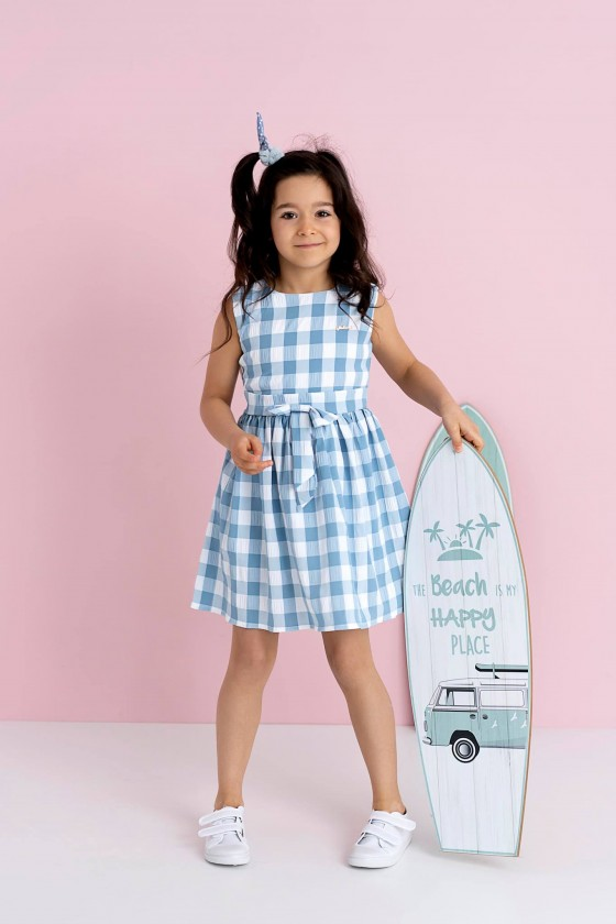 copy of Vivian baby blue dress