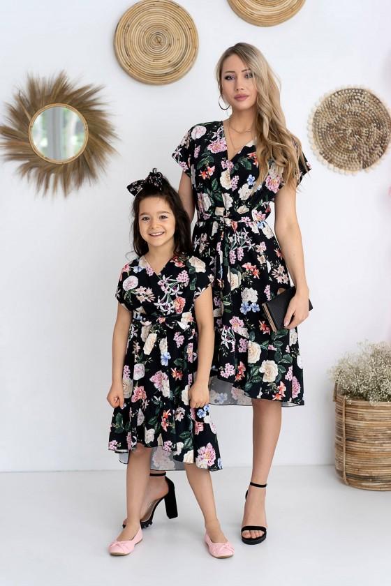 Sukienka córeczka Garden black