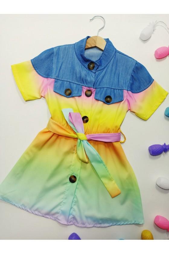 copy of Rainbow yellow pink...
