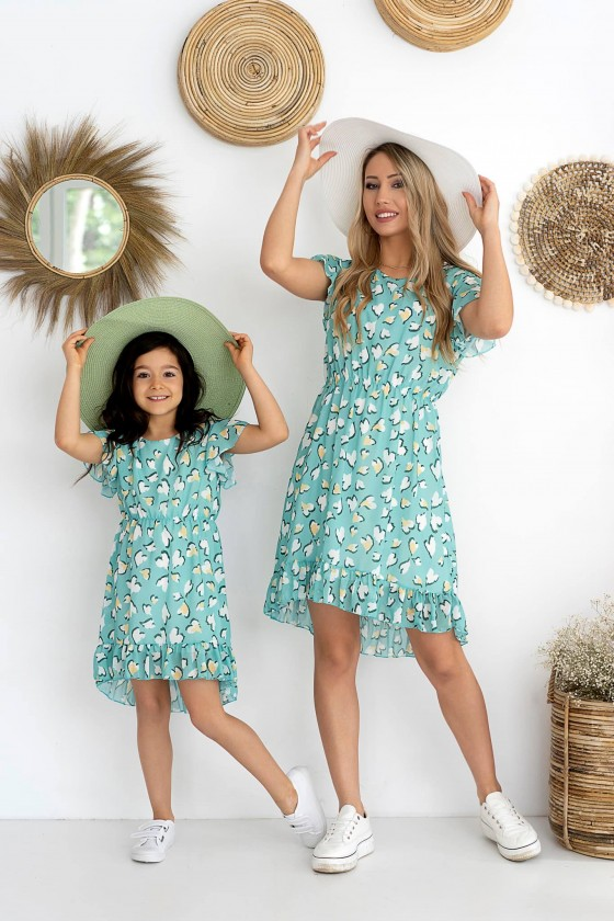 sukienka dla mamy i córki