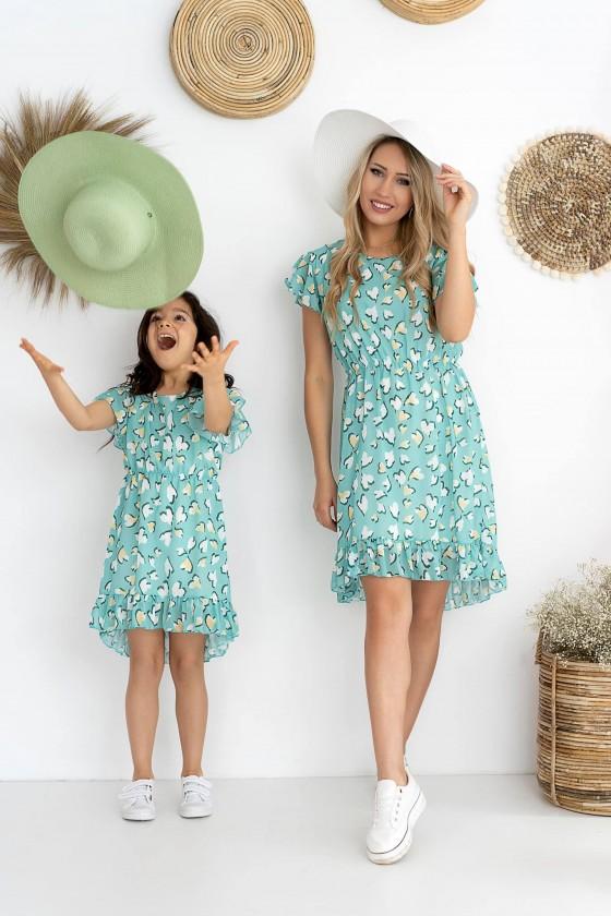 Sukienka córeczka Sonia mięta