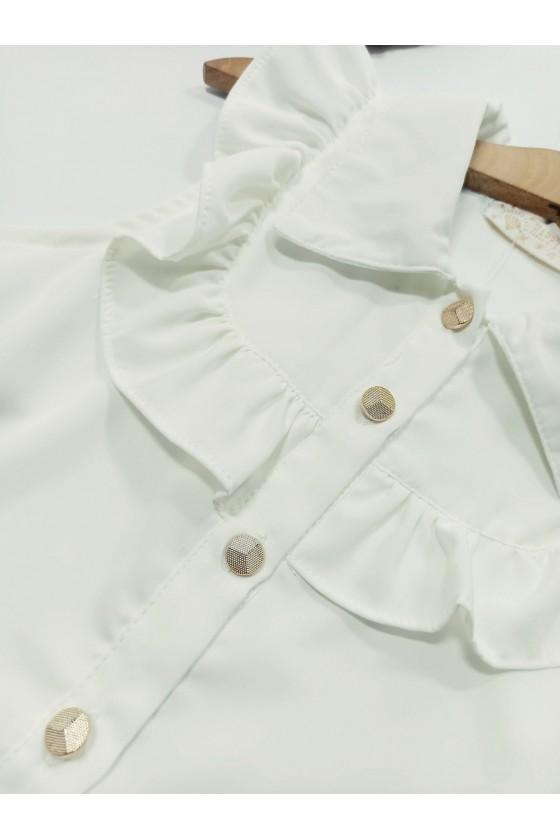 copy of Cora ecru blouse