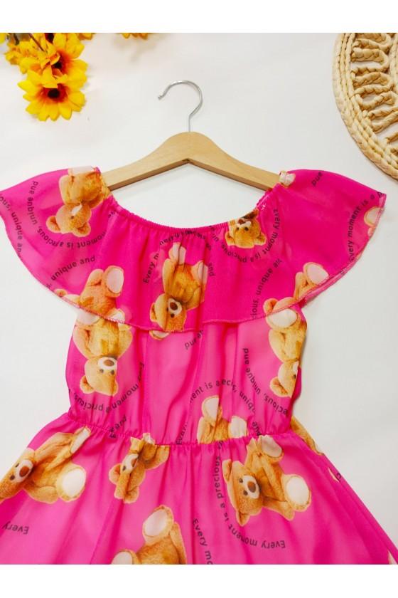 Sukienka Tuti pink