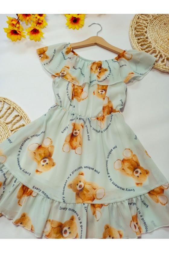 Sukienka Tuti mięta