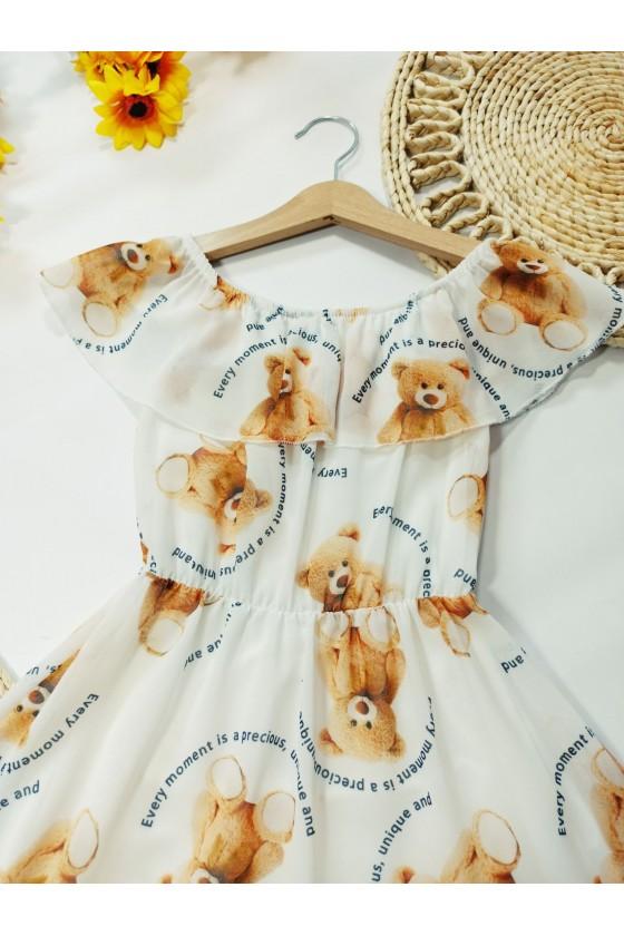 Sukienka Tuti biała