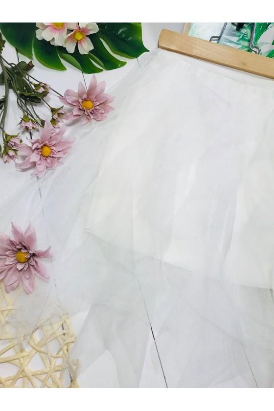 copy of Spódnica Molly tiul  biel