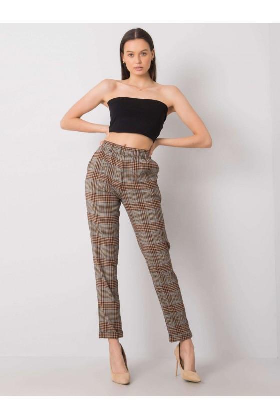 Spodnie Tina w kratkę