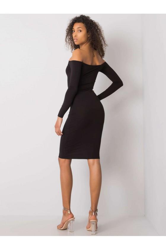 Sukienka Margo dopasowana czarna