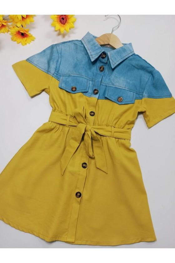 copy of Dress Neli jeans honey