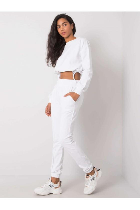 Komplet Lia casualowy biały