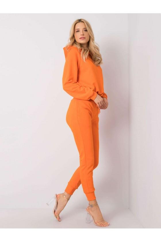 Komplet Adoria bluza i spodnie orange