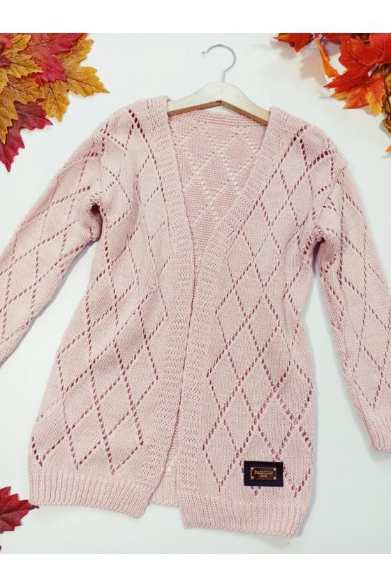 kardigan sweter dla dziewczynki  jesień w Sówka odzież dziecięca