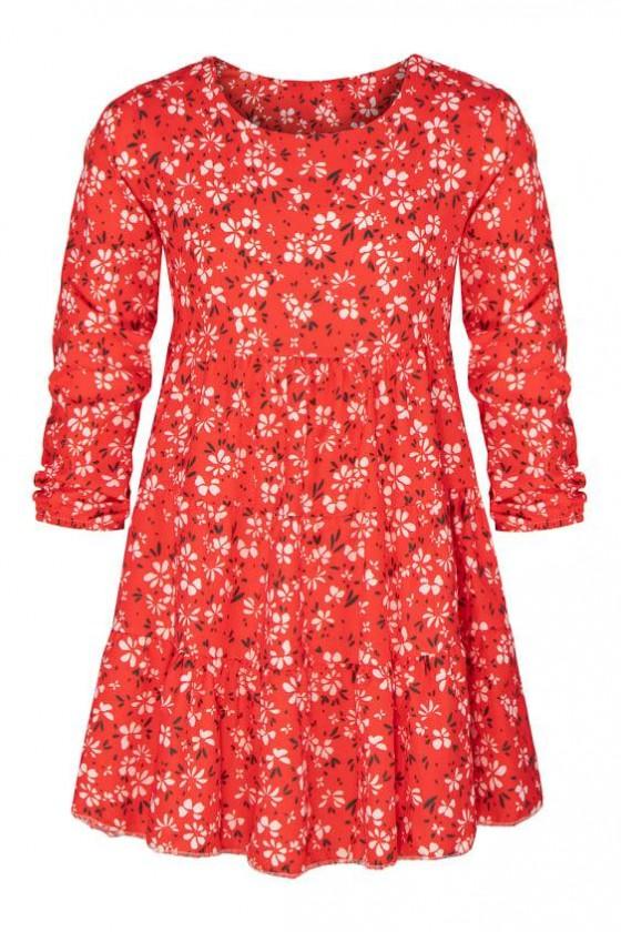 Sukienka dla dziewczynki odzież dziecięca jesienna Sówka