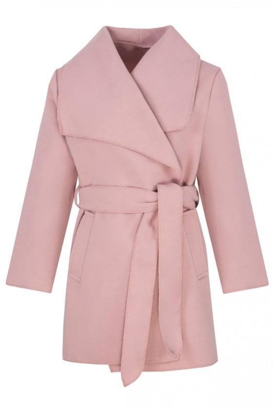 Płaszczyk dla dziewczynki jesienny odzież dziecięca sówka