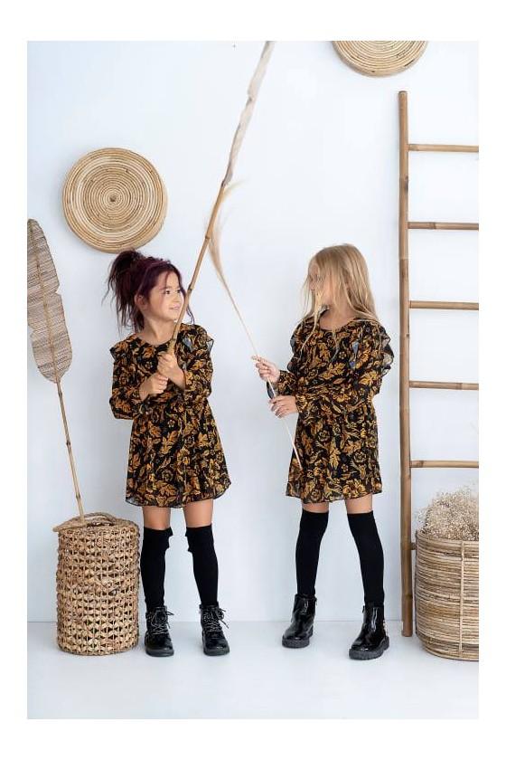 Sukienka dla dziewczynki Honey zestaw mama i córka