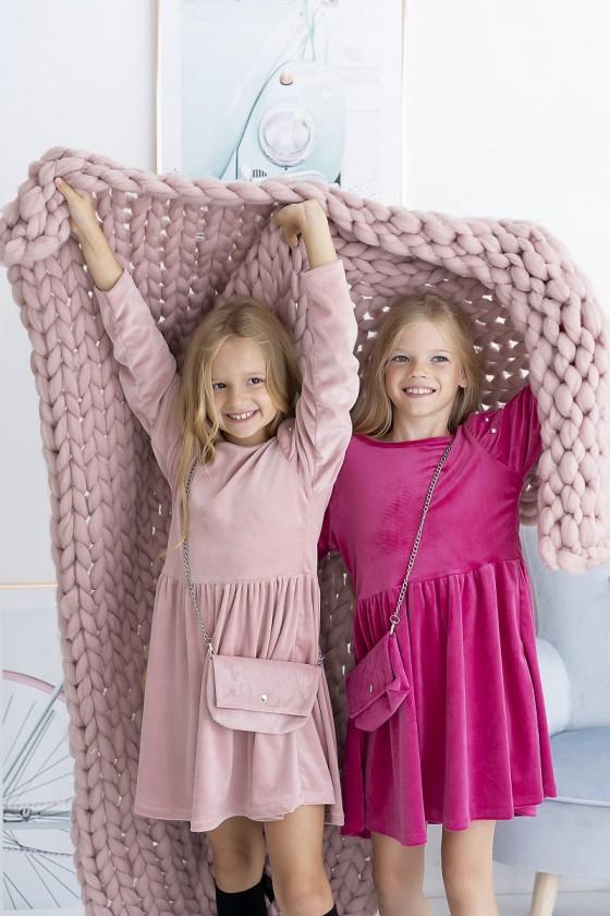 Sukienka dla dziewczynki Lili Fuksja