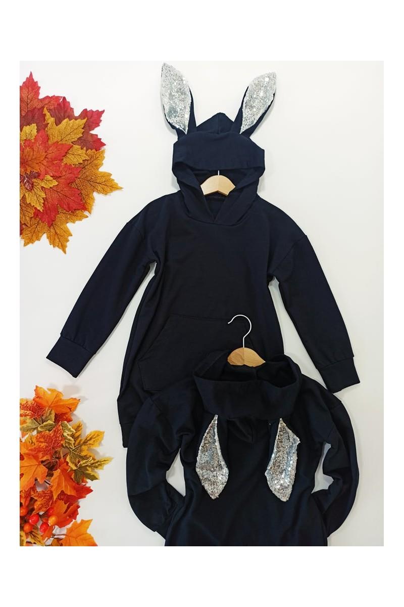 Bawełniana bluza dla dziewczynki odzież dziecięca Sówka