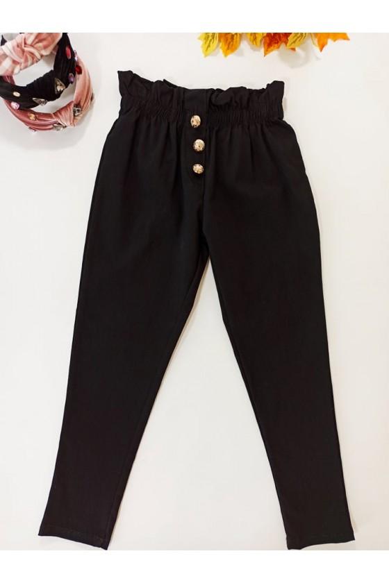 Spodnie cygaretki z lycra  jesień sówka odzież dziecięca