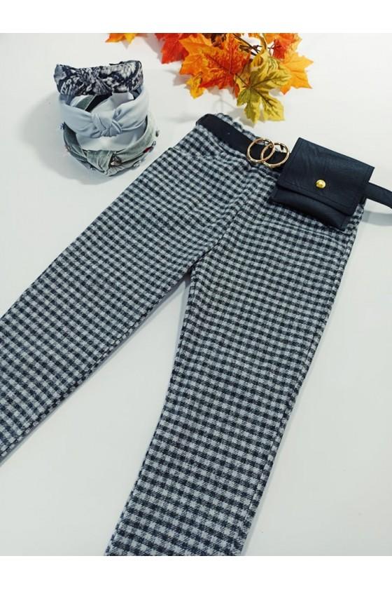 copy of Spodnie dla dziewczynki Titi cygaretki z lycra czarne