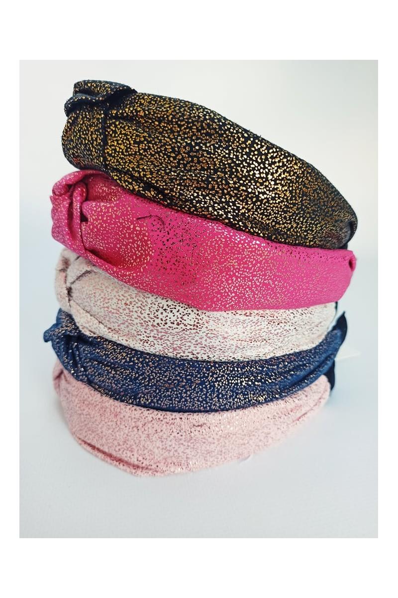 opaska dla dziewczynki turban satyna sówka odzież dziecięca ozdoby do włosów