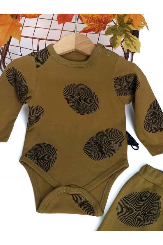Komplet dla chłopczyka niemowlęcy koła miodzik