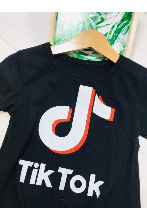Bluzka Tik tok  black
