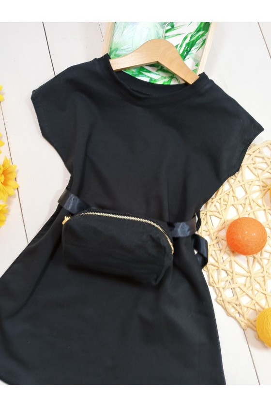 Nikita black dress/tunic + kidney